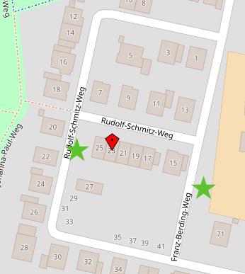 Parkplatz-Lage